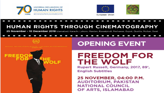 """4th edition of the Human Rights Film Festival """"Human Rights Through"""