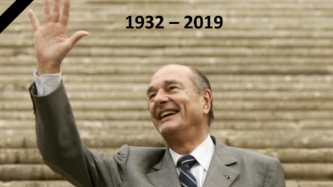 Book of condolences in tribute to President Jacques Chirac