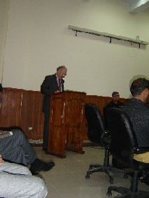 National Police Academy Islamabad- speech by Mr  Pierre