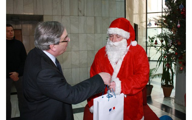 Christmas at the French Embassy