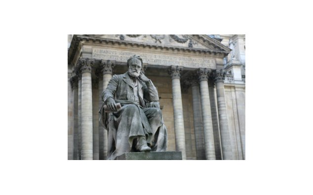 Statue of Victor Hugo in front of the Sorbonne, Latin Quarter