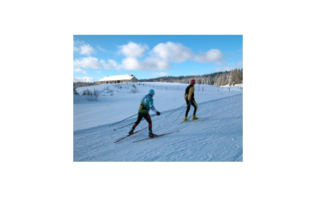 Cross country skiing in the Haut-Doubs © MAEE FDLM