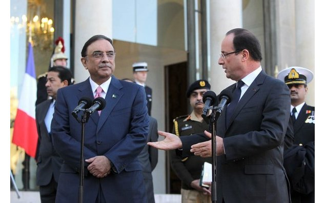 Meeting with Mr. Asif Ali Zardari, President of the Islamic Republic of Pakistan